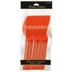 Orange Peel Spoons, 20 ct | Party Supplies
