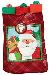 Crafty Christmas Super Giant Plastic Gift Sacks | Party Supplies