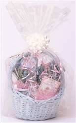 Basket Bag - Clear | Party Supplies
