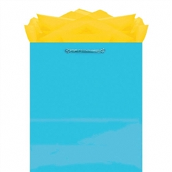 Caribbean Jumbo Solid Glossy Bags | Party Supplies