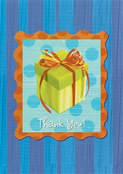 Wrap It Up Thank You Cards | Party Supplies