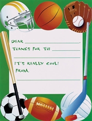 Game Day Thank You Cards | Party Supplies