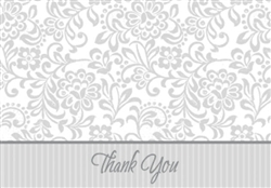 Silver Wedding Traditions Thank You Cards | Party Supplies