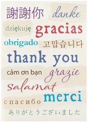 A World of Thanks Thank You Card | Party Supplies