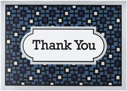 Handsome Hues Thank You Card | Party Supplies