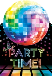 Disco Fever Postcard Invitation | Party Supplies