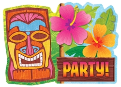 Tiki Value Pack Invitations | Party Supplies