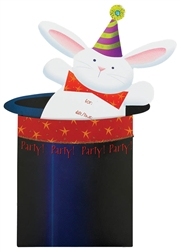 Abracadabra Jumbo Glitter Specialty Invitations | Party Supplies