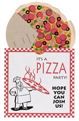 Pizza Party Specialty Invitations | Party Supplies