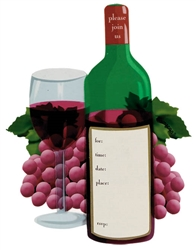 Wine Tasting Specialty Invitations | Party Supplies