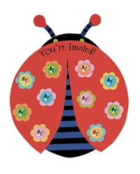 Ladybug Invitation | Party Supplies