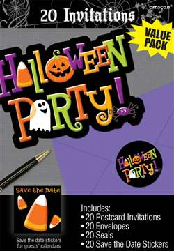 Halloween Party Invitations | Party Supplies