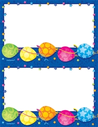 Bright Balloons 2-Up Imprintable Paper | Party Supplies