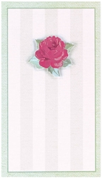 Traditional Rose Imprintable Invitation | Party Supplies