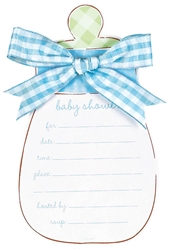 Blue Bottle Large Novelty Invitation | Party Supplies
