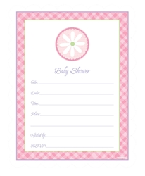 Baby Shower Pink Value Pack Invitation | Party Supplies