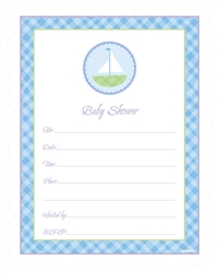 Baby Shower Blue Value Pack Invitations | Party Supplies