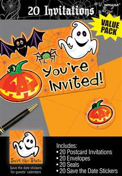 Scared Silly Invitations | Party Supplies