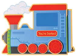 Choo Choo Invitations | Party Supplies