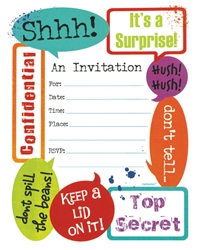 Surprise! Value Pack Invitations | Party Supplies
