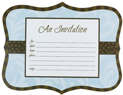 Lotsa Dots Fillable Invitation | Party Supplies