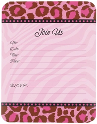 Fashion Forward Fillable Invitation | Party Supplies