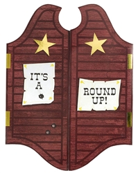 Round Up Jumbo Novelty Invitations | Party Supplies