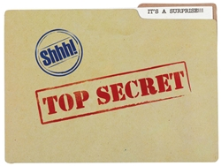 Top Secret Jumbo Novelty Invitation | Party Supplies