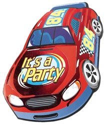 Race Car Jumbo Novelty Invitations | Party Supplies