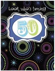 Fifty Large Novelty Invitations | Party Supplies
