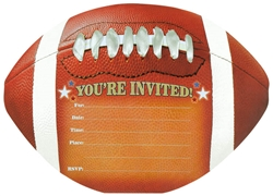 Football Jumbo Novelty Invitation | Party Supplies