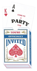 Deck of Cards Novelty Invitation | Party Supplies