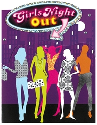 Girls' Night Out Prismatic Invitations | Party Supplies