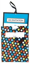 Dapper Days Large Novelty Invitations | Party Supplies
