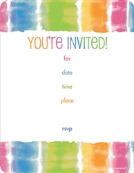 Summer Lovin' Fill-In Novelty Invitations | Luau Party Supplies