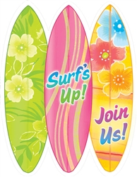 Hang Ten Fill-In Invitations | Party Supplies