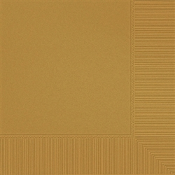 Gold Beverage Napkins - 20ct. | Party Supplies