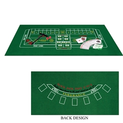 Blackjack and Craps Set