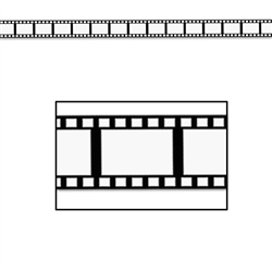 Filmstrip Poly Decorating Material