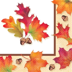 Autumn Days Beverage Napkins | Party Supplies