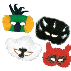 Classic Fanci-Feather Masks | Party Supplies