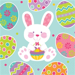 Easter Enchantment Beverage Napkins | Party Supplies