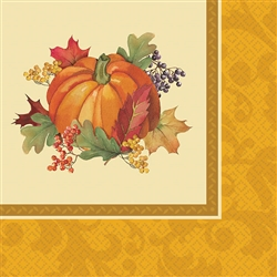 Bountiful Holiday Beverage Napkins | Party Supplies
