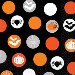Modern Halloween Beverage Napkins | Party Supplies