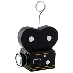 Movie Camera Photo/Balloon Holder