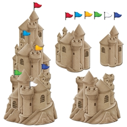 Stackable Sandcastle Cutouts