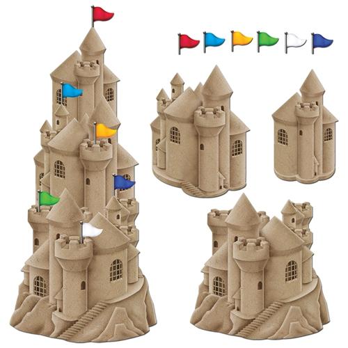 Stackable Sandcastle Cutouts