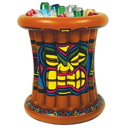 Inflatable Tiki Cooler | Party Supplies