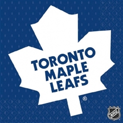 Toronto Maple Leafs Beverage Napkins | Party Supplies