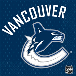 Vancouver Canucks Beverage Napkins | Party Supplies